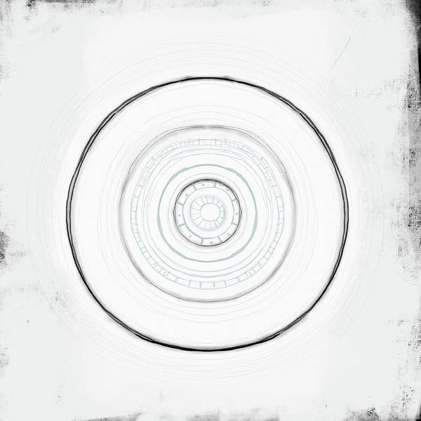 Zen Digital Art - Tribal Circle by Kathryn Humphrey