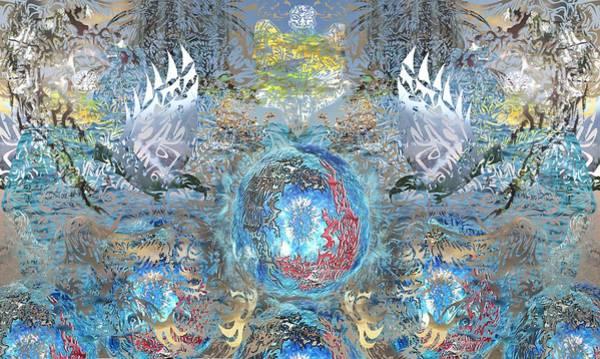 Gargoyle Digital Art - Tribal Composite by AR Teeter