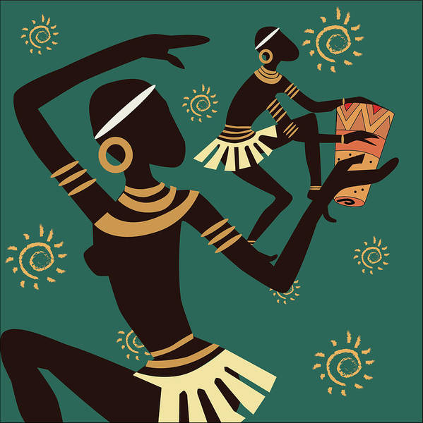 Tribal Dance Digital Art - Tribal Dance  by Raashi Divecha