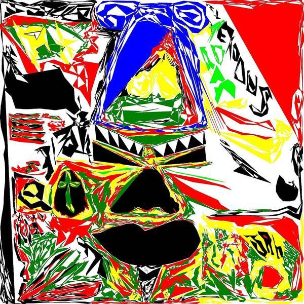 Respect Digital Art - Tribal Party by Shakimono Art