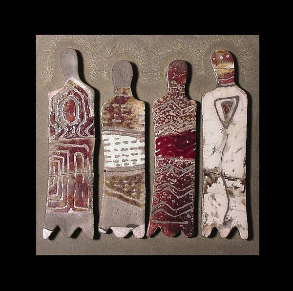 Mixed Media - Tribal Rhythms by Bates Clark
