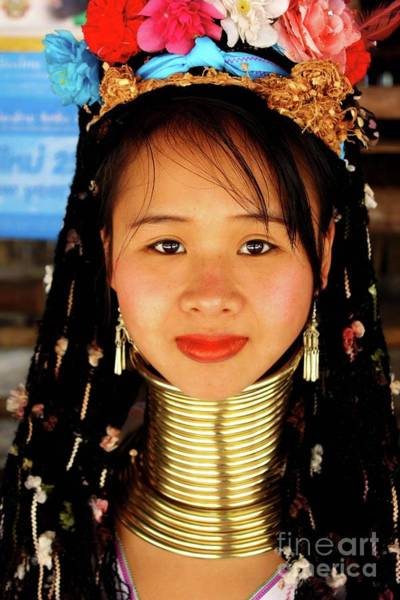Chang Mai Wall Art - Photograph - Tribe Beauty by Vilkas Pilkas