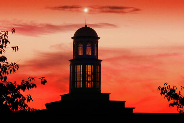 Trible Library Dome At Christopher Newport University Art Print