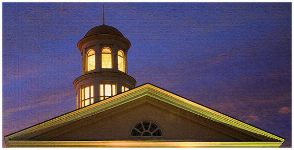 Trible Library Dome Art Print