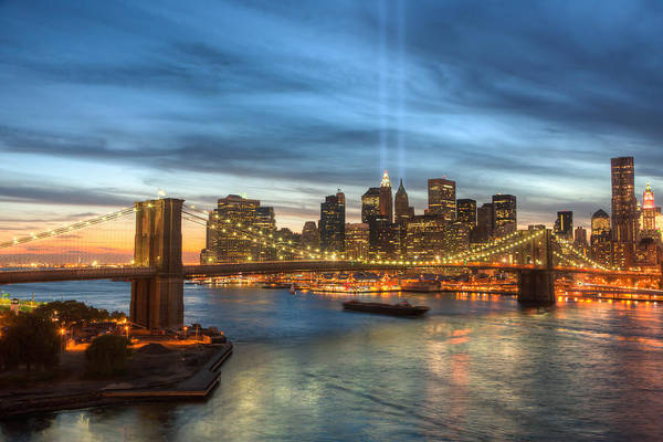 Tribute In Light I Art Print