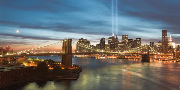 Photograph - Tribute In Light II by Clarence Holmes