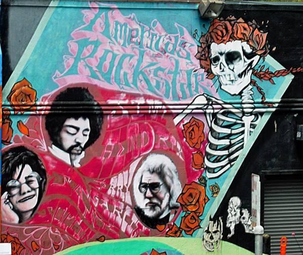 Janis Joplin Photograph - Tribute To Americas Rockstars by John Hughes