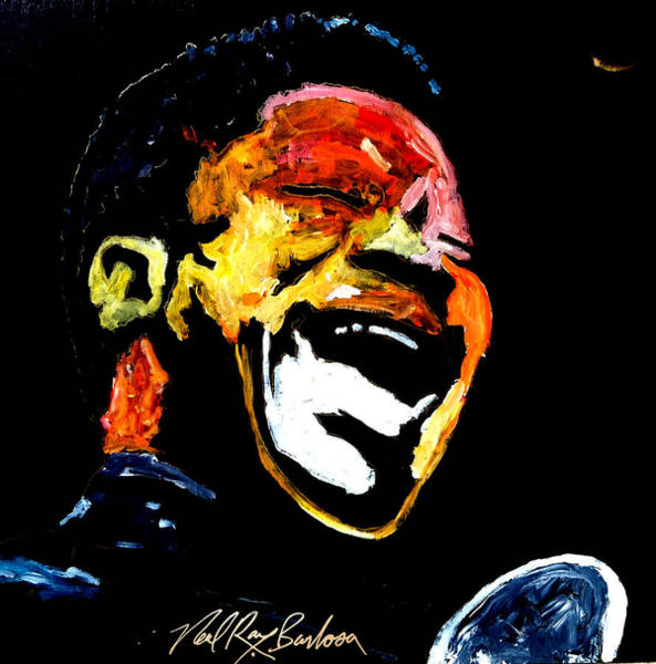Painting - Tribute To Bb King by Neal Barbosa