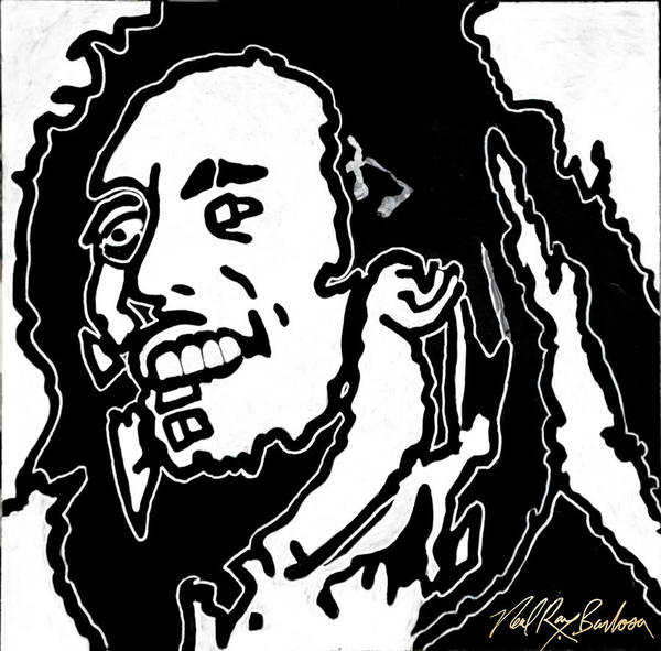 Painting - Bob Marley by Neal Barbosa
