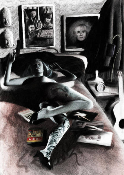 Digital Art - Tribute To Helmut Newton by Caito Junqueira