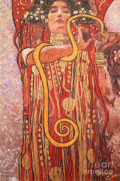 Painting - Tribute To Klimt by Stefan Duncan