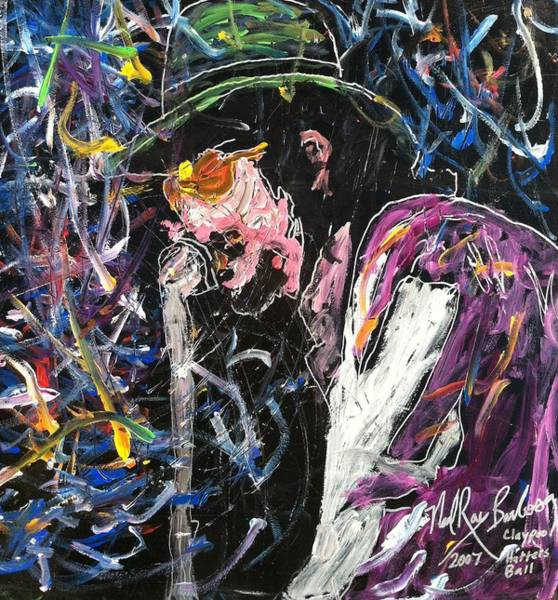 Painting - Tribute To Les Claypool by Neal Barbosa
