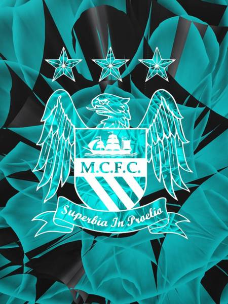 Greater Manchester Wall Art - Digital Art - Tribute To Manchester City 2 by Alberto RuiZ