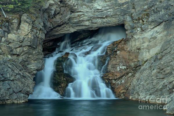 Photograph - Trick Falls Closeup by Adam Jewell