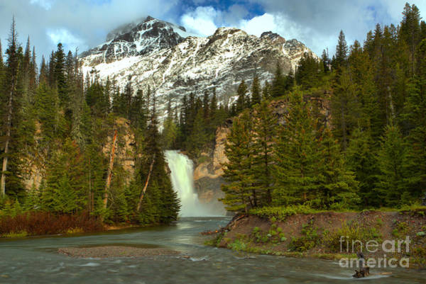 Photograph - Trick Falls Spring Landscape by Adam Jewell