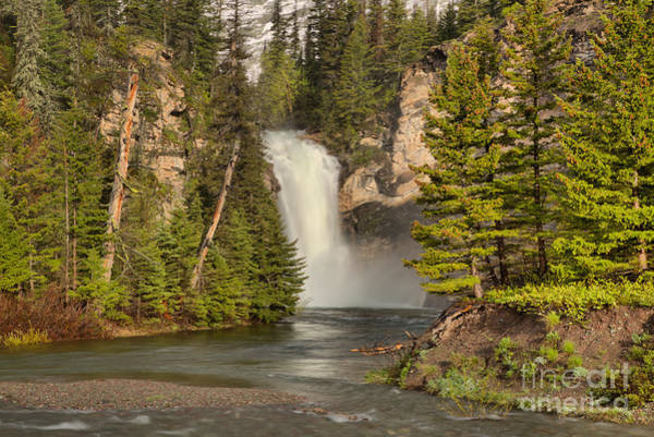 Photograph - Trick Falls Through The Trees. by Adam Jewell