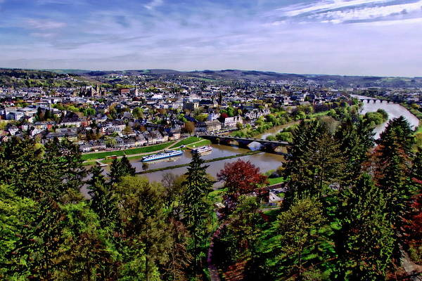 Photograph - Trier City Panorama by Anthony Dezenzio