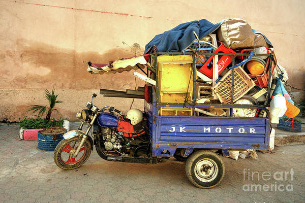 Wall Art - Photograph - Trike Of Many Things  by Rob Hawkins