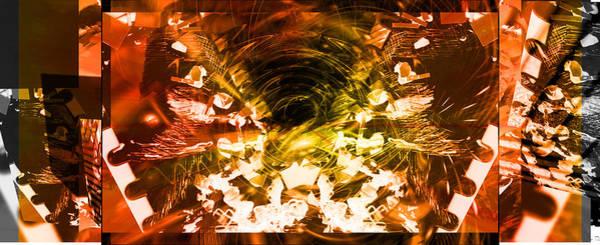 Digital Art - Trilogy by Art Di