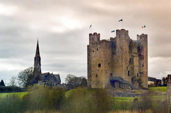 Wall Art - Photograph - Trim Castle. by Terence Davis