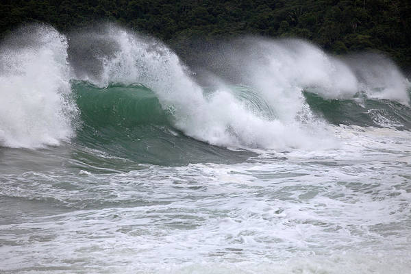 Photograph - Trindade Beach Waves by Aivar Mikko