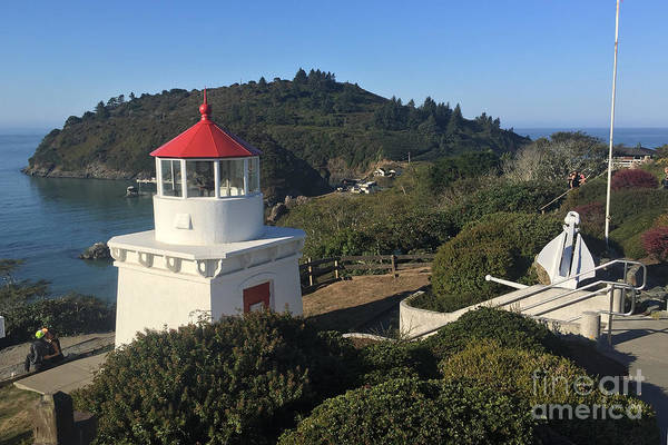 Photograph - Trinidad Head Memorial Lighthouse, California Lighthouse by California Views Archives Mr Pat Hathaway Archives
