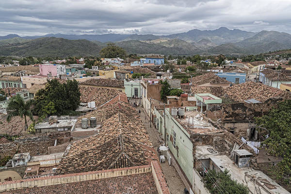 Photograph - Trinidad Skyline And Mountains by Sharon Popek