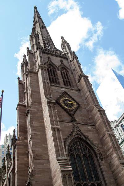 Photograph - Trinity Church At Wall St  by Robert J Caputo