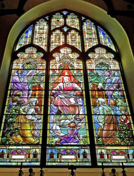 Photograph - Trinity Church Galveston by Wilhelm Hufnagl