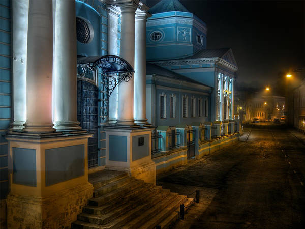 Photograph - Trinity Church In Moscow by Alexey Kljatov