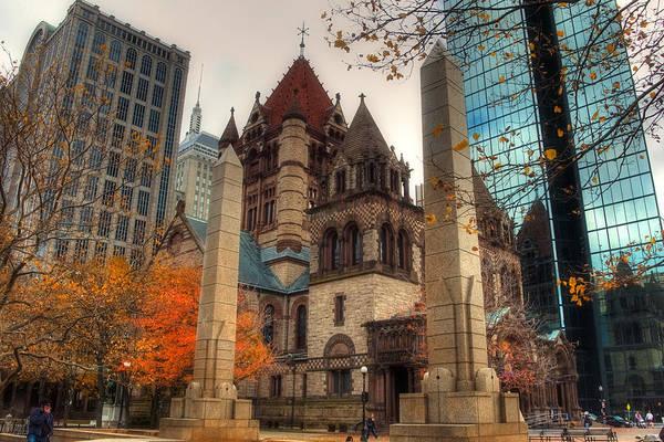 Photograph - Trinity Church by Joann Vitali