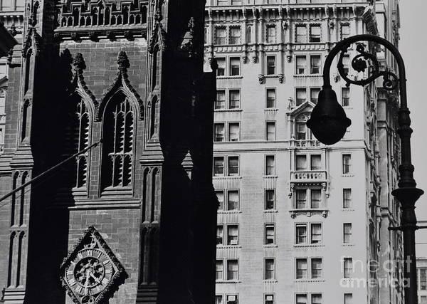 Trinity Photograph - Trinity Church Wall Street by Anthony Butera
