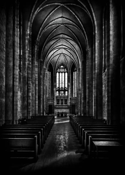 Photograph - Trinity College Chapel by Brian Carson