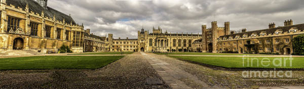 Photograph - Trinity College Panorama by Nigel Dudson