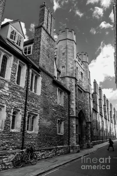 Photograph - Trinity College, Cambridge. by Nigel Dudson