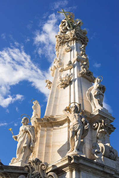 Photograph - Trinity Column Budapest Hungary by Matthias Hauser