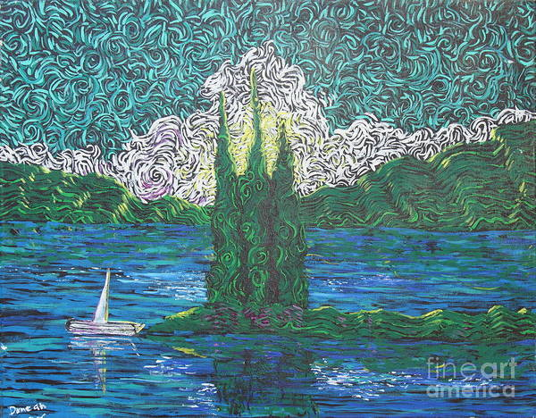 Painting - Trinity Lake Series IIi by Stefan Duncan