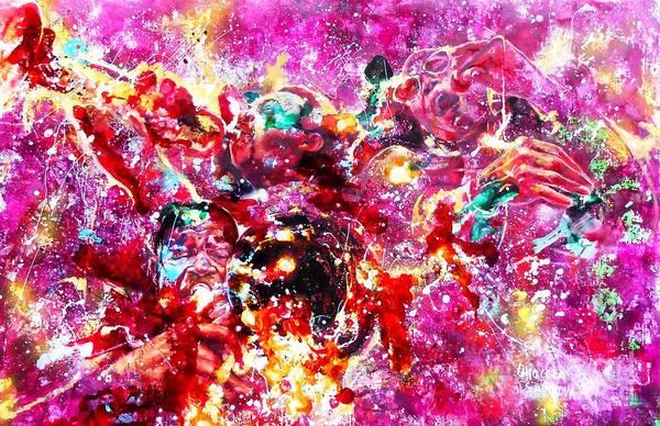 Wall Art - Painting - Trio by Massimo Chioccia