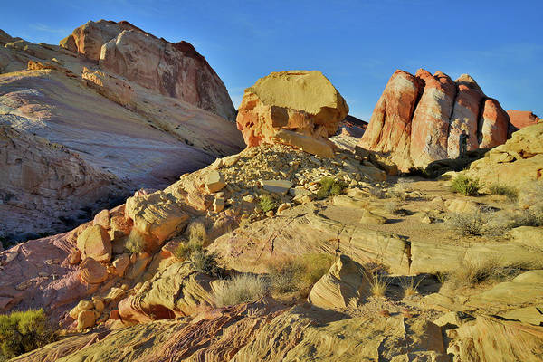 Photograph - Triple Domes Of Valley Of Fire by Ray Mathis