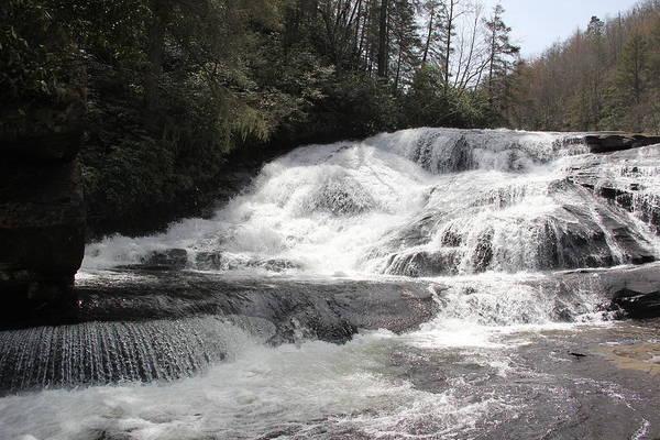 Photograph - Triple Falls by Allen Nice-Webb