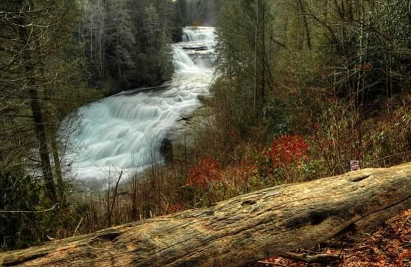 Photograph - Triple Falls Raging by Carol Montoya