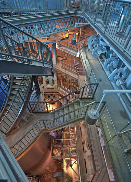 Photograph - Triple Steam Stairs 2 by Rick Hartigan