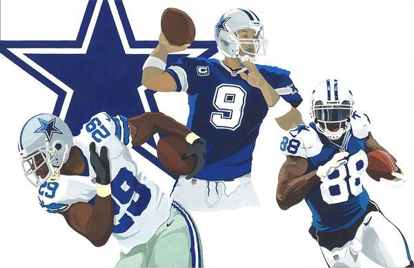 Romo Painting - Triple Threat by Greg Schmidt