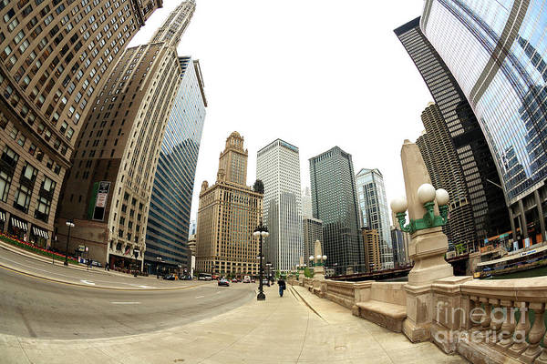 Wall Art - Photograph - Tripping In Chicago by John Rizzuto