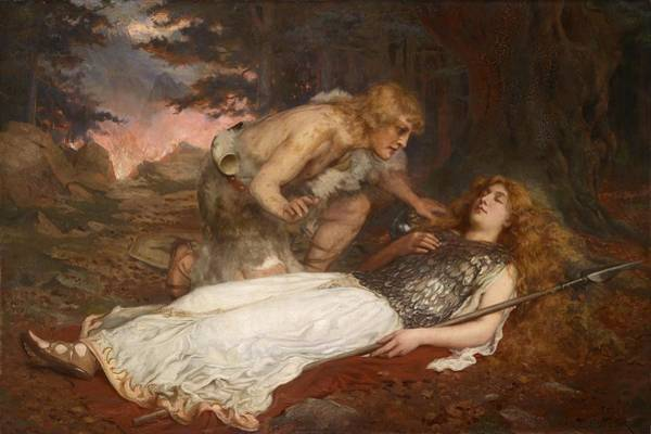 Herbert Draper Painting - Tristan Isolde And Opera by Herbert James