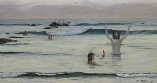 Painting - Tritons by Rupert Bunny