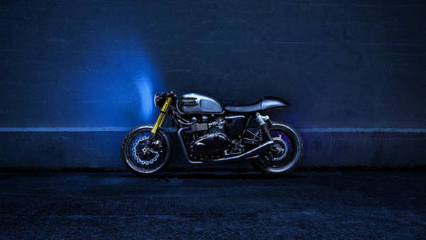 Photograph - Triumph Bonneville 1 by Movie Poster Prints