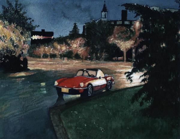 Triumph By Night Art Print