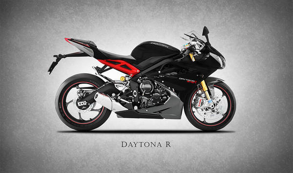 Daytona Photograph - Triumph Daytona R by Mark Rogan