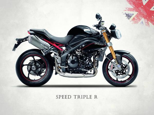 R Photograph - Triumph Speed Triple R by Mark Rogan